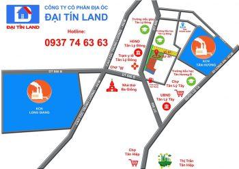 Dự án khu dân cư phố thương mại Long Giang